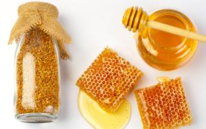 produits abeille miel pollen et cire