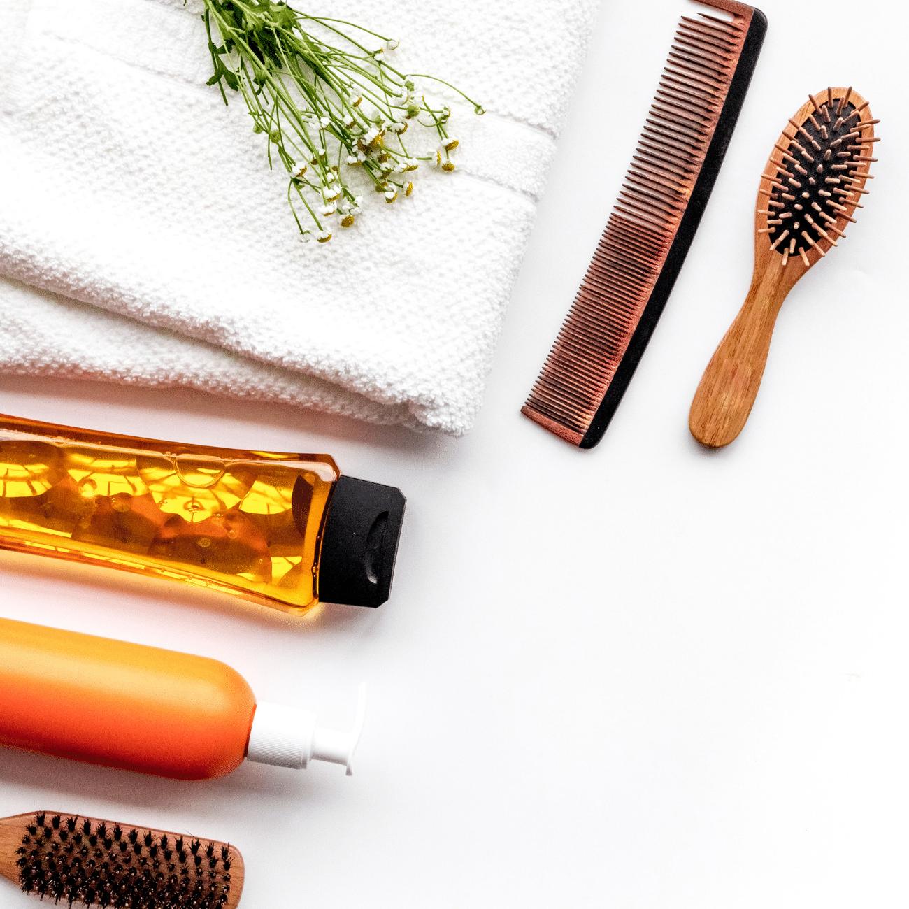 produits capillaires pour laver ses cheveux