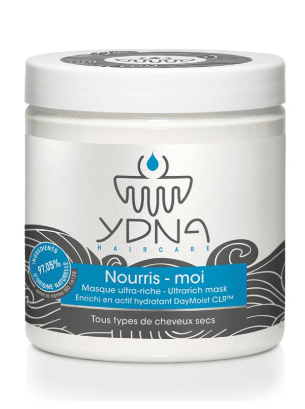 masque capillaire hydratant pour cheveux secs, afro et métissés de la marque naturelle YDNA Haircare