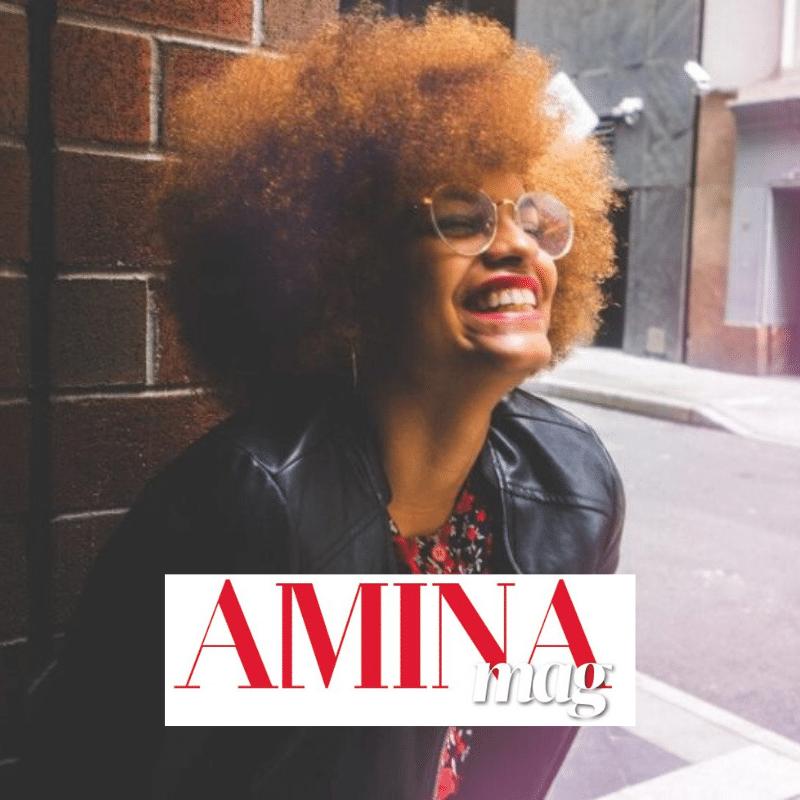 article interview de Marylène Lienafa, la fondatrice d'YDNA pour le magazine Amina Mag