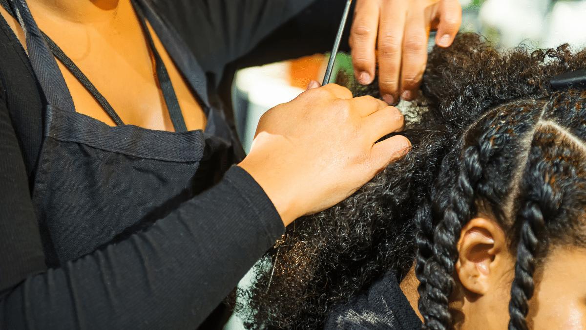 coiffure type cheveux afro crepus boucles frises
