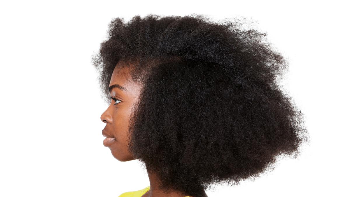 cheveux afro souplesse et douceur