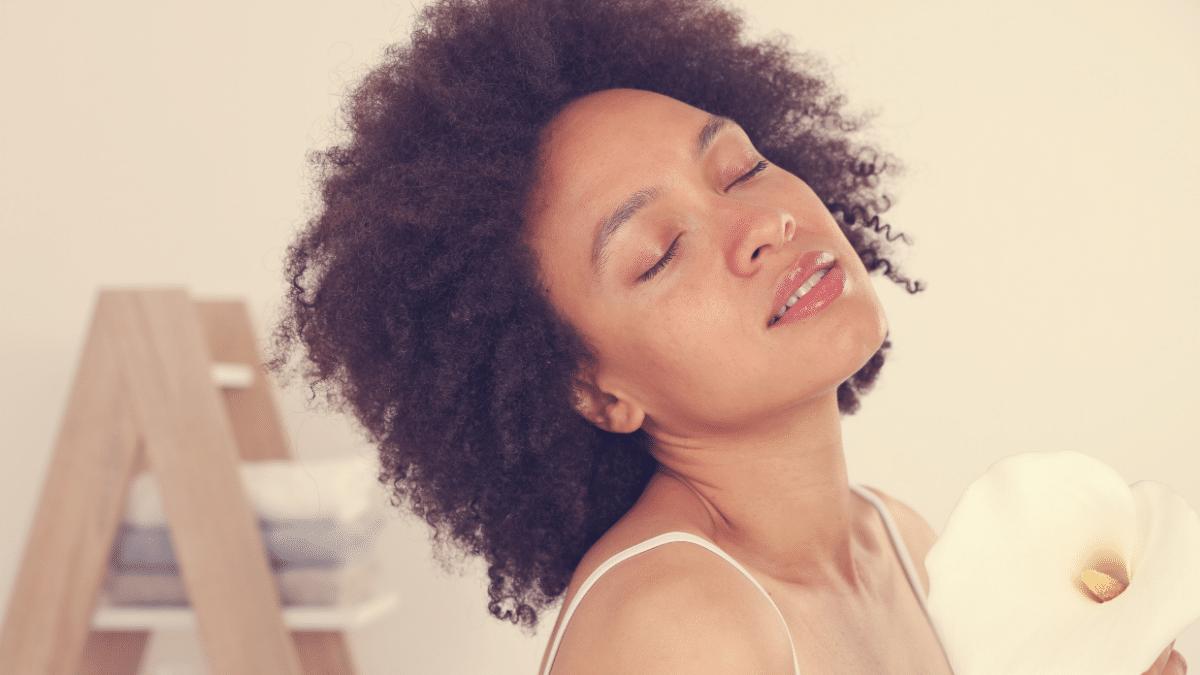 Soin profond cheveux afro pousse naturelle